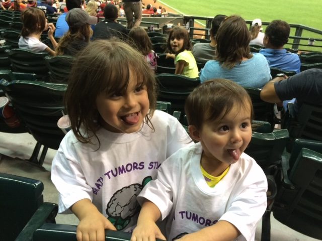 2015 cute kids at dbacks game