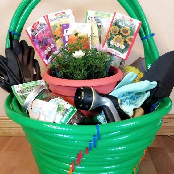 basket sample Garden hose