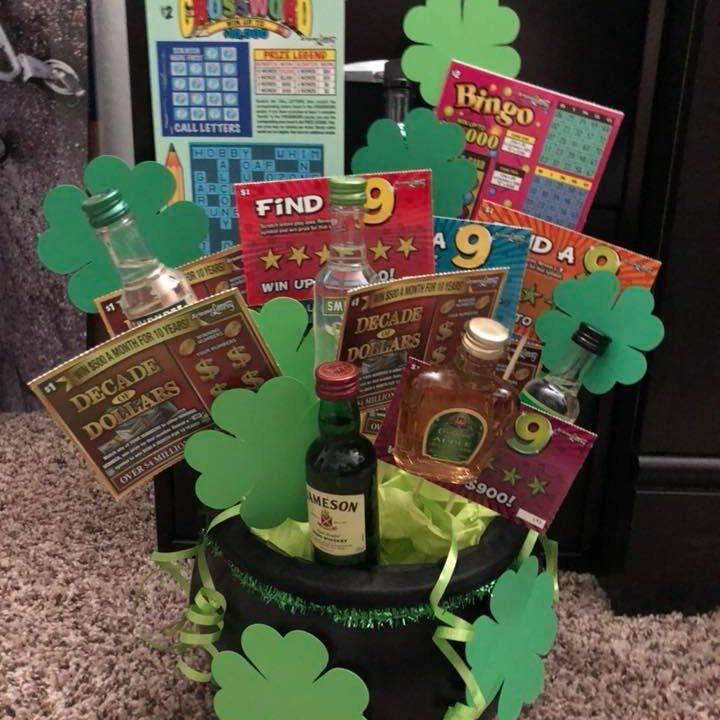basket sample - Luck of the Irish -Heather Bristow