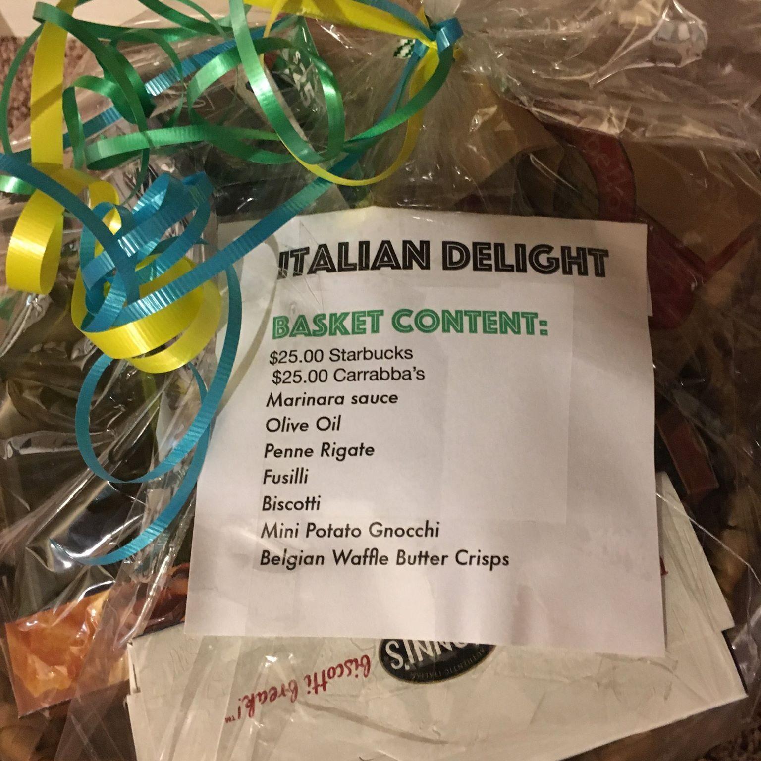 baskset sample italian