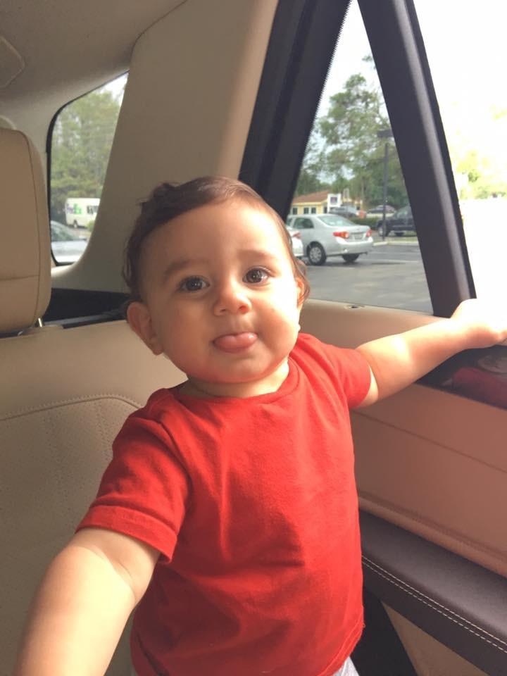 Baby SHetsky TONGUES at TUMORS