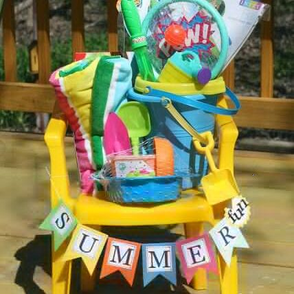 basket sample kid chair
